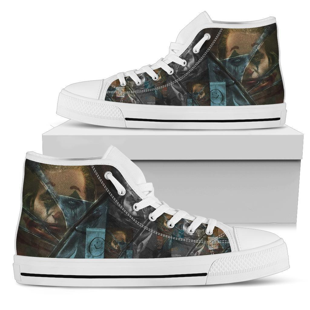 Shopeholic:Custom High Top Canvas Shoes - Hayden 2