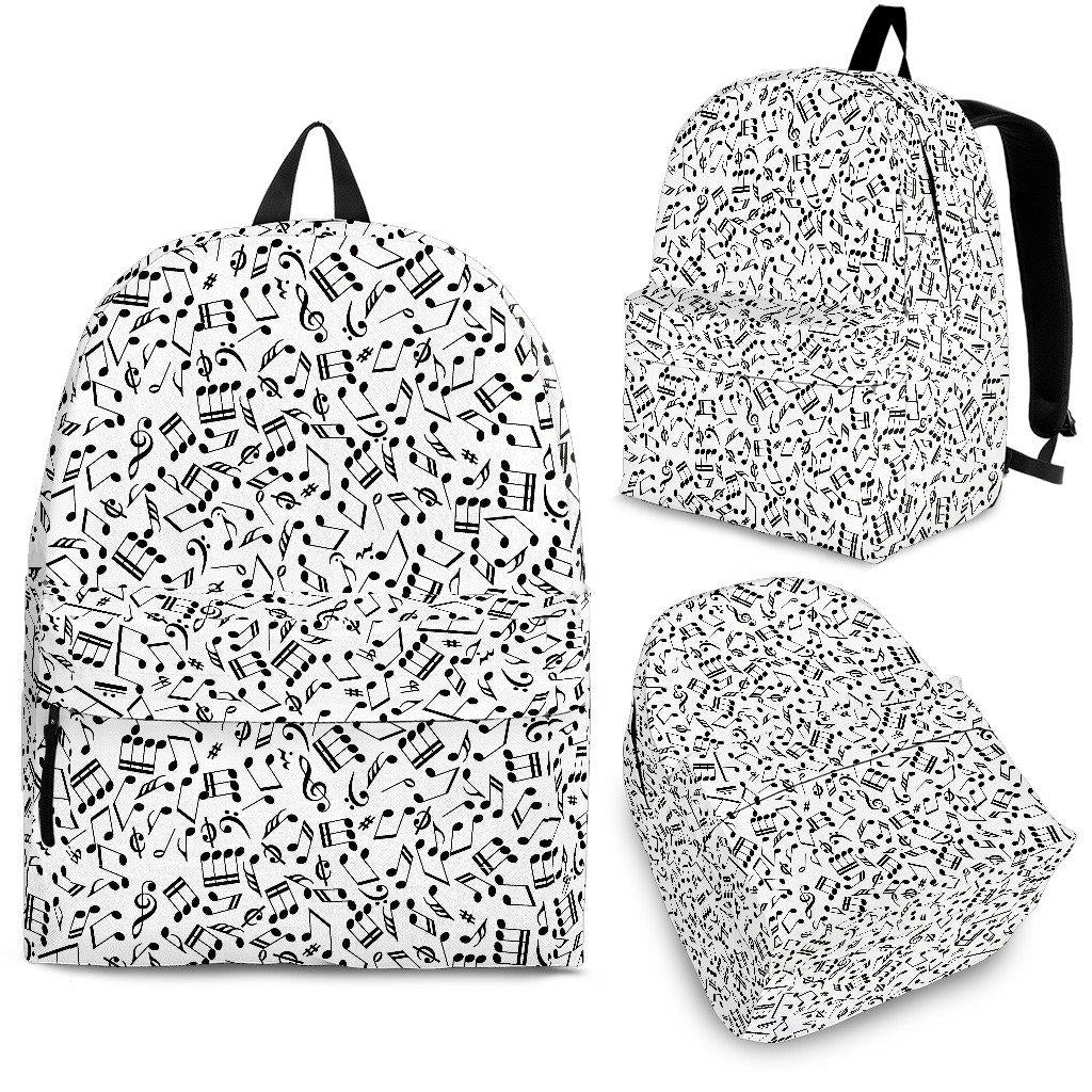 Shopeholic:Music Note Backpack