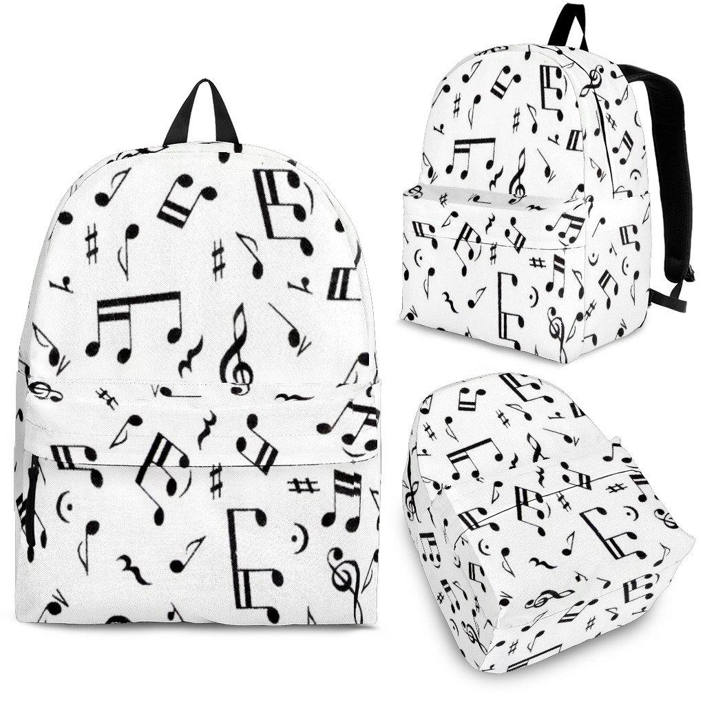 Shopeholic:Music Notes Backpack