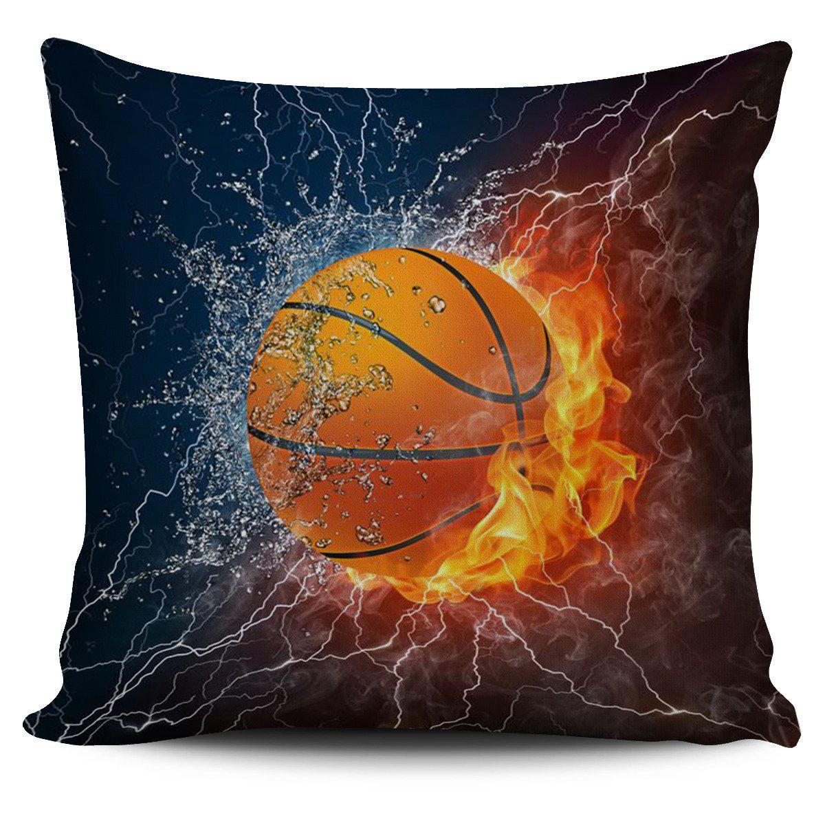Shopeholic:Basketball Pillow Cover