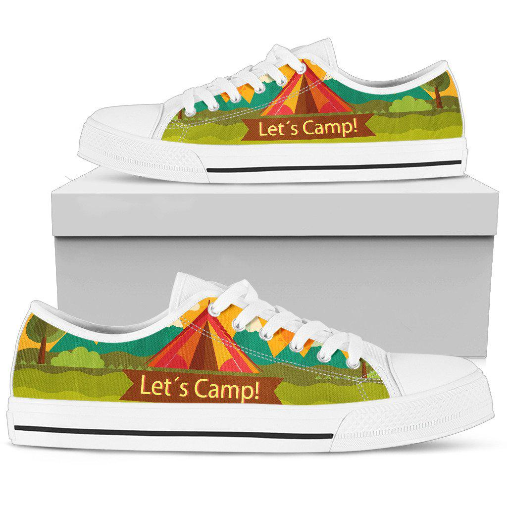 Shopeholic:Camping Women's Low Top Shoe