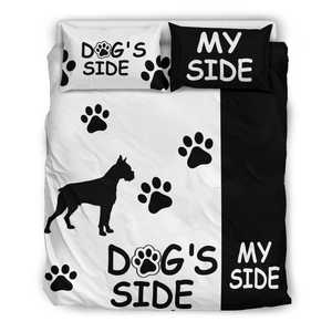 Shopeholic:BOXER DOG'S SIDE MY SIDE Bedding Set