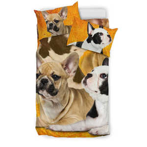Shopeholic:FRENCH BULLDOG Bedding Set