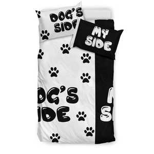 Shopeholic:Dog's Side - My Side 002 Bedding Set