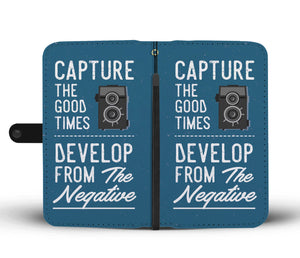 Shopeholic:Capture The Good Times Wallet Phone Case