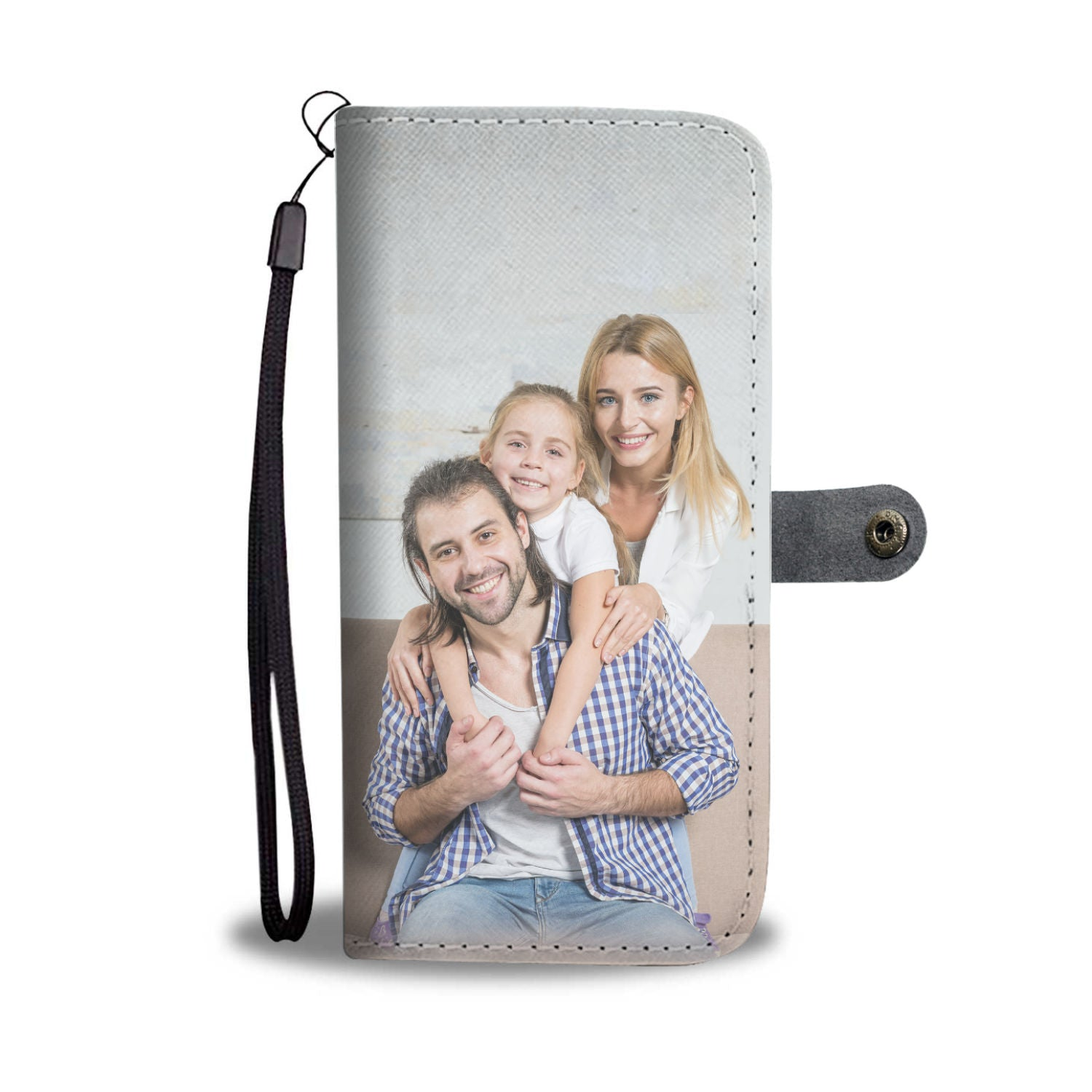 Shopeholic:Custom Designed Wallet Phone Case