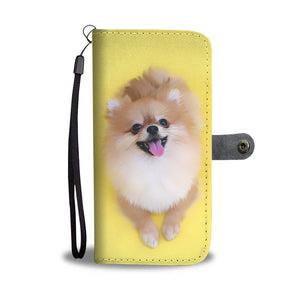 Shopeholic:Pomeranian Wallet Phone Case