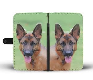 Shopeholic:German Shepherd Wallet Phone Case
