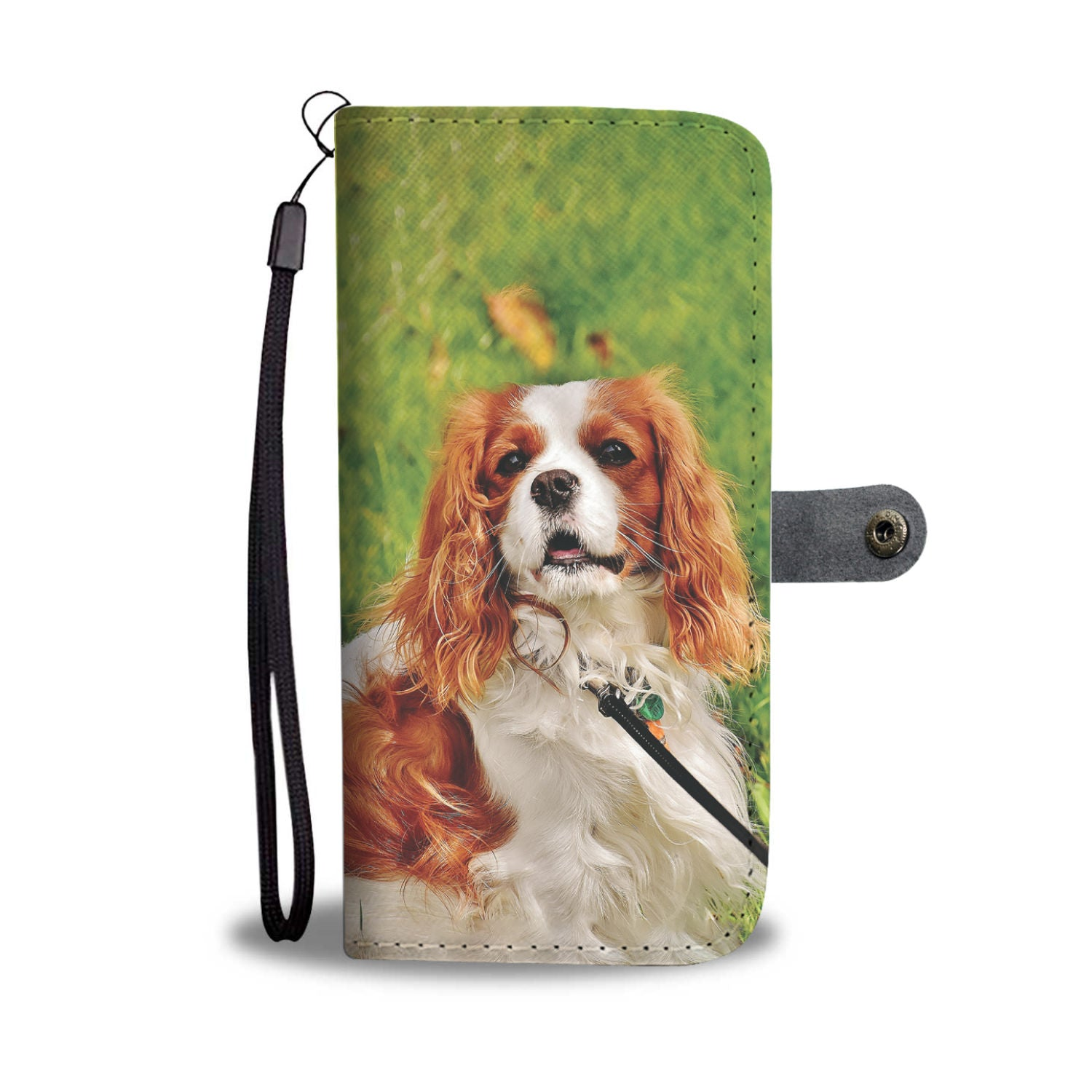 Shopeholic:Cocker Spaniel Wallet Phone Case