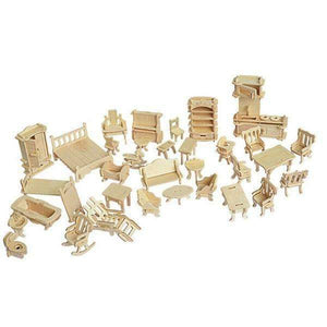 3D Wooden Furniture Puzzle-Shopeholic