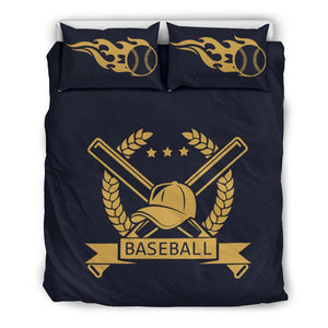 Shopeholic:Baseball 001 Bedding Set
