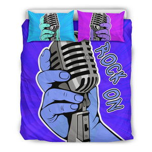 Shopeholic:Rock On Bedding Set
