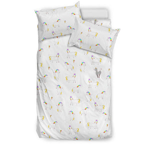 Playful Unicorn Bedding Set