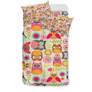 Owl Everywhere Bedding Set