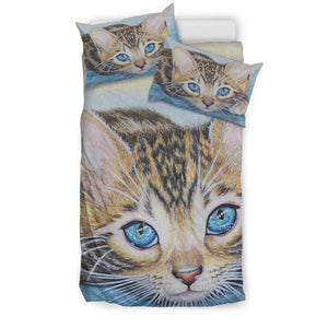 Shopeholic:Bengal Cats Bedding set