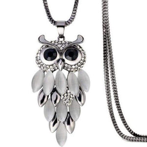Bohemia Owl Necklace-Shopeholic