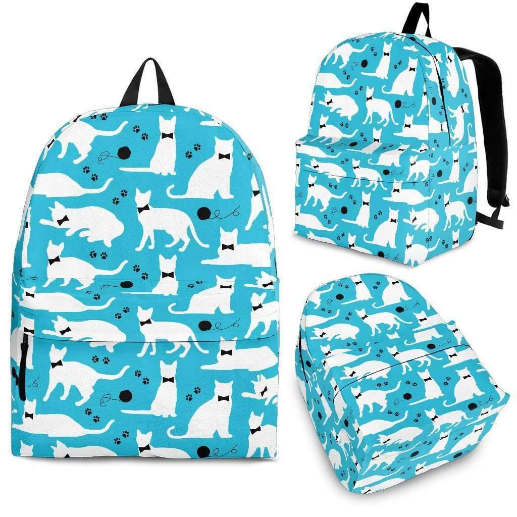 Bow Tie Kitties Backpack-Shopeholic
