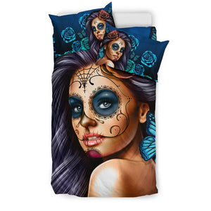 Shopeholic:Calavera Girl Bedding Sets