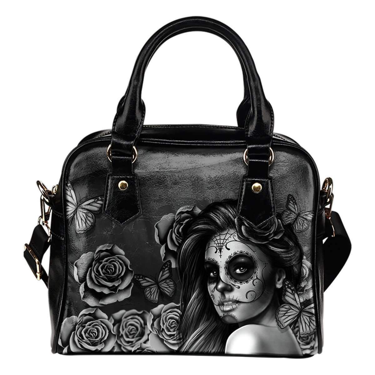Shopeholic:Calavera Girl - Shoulder Handbags