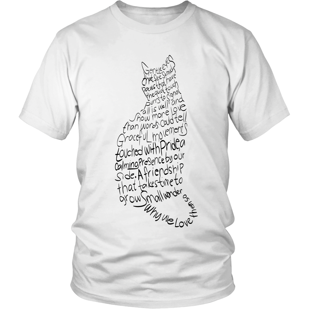 Shopeholic:Cat Lovers Apparels - Black Texts