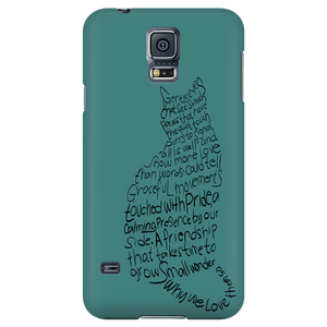Shopeholic:Cat Lovers Phone Cases - Cool Green