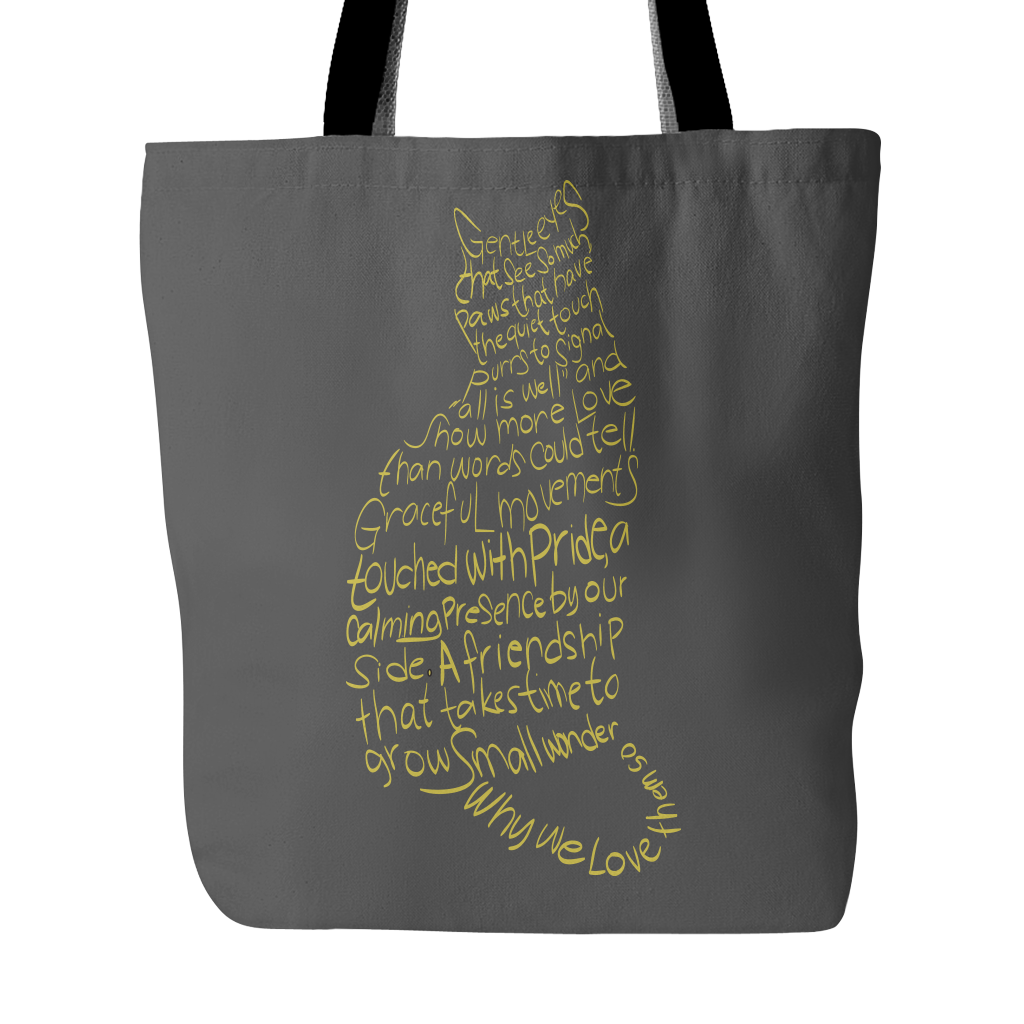 Shopeholic:Cat Lovers Tote Bag