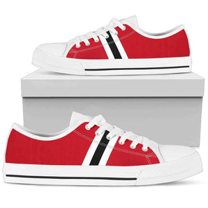 Chicago Fan - Men's Low Top Canvas Shoes-Mens Low Top - White - Chicago Fan - White-PP.2722092-Shopeholic