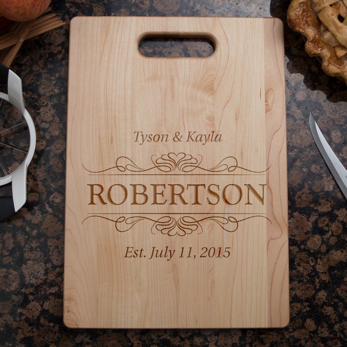 Shopeholic:Couple Established Cutting Board