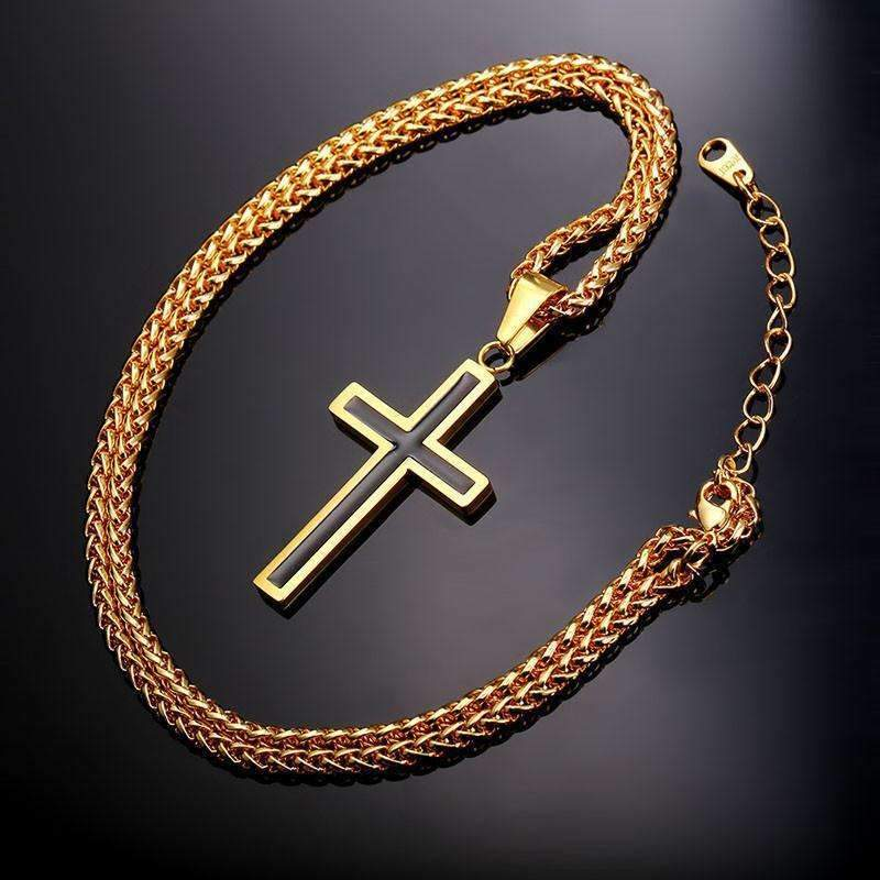 Shopeholic:Cross Pendant Necklace