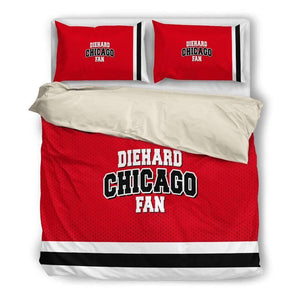 Diehard Chicago Fan - Bedding Set - PROMO-Bedding Set - Beige - Diehard Chicago Fan - Beige-PP.2679693-Shopeholic