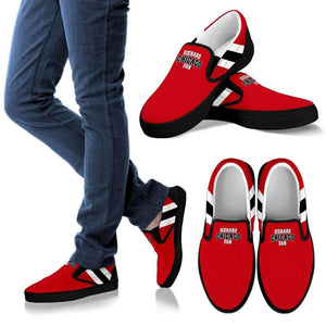 Shopeholic:DieHard Chicago Fan - Men's Slip Ons