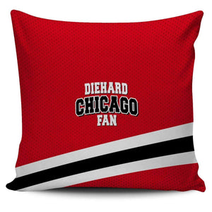 DieHard Chicago Fan Pillow Cover-Shopeholic