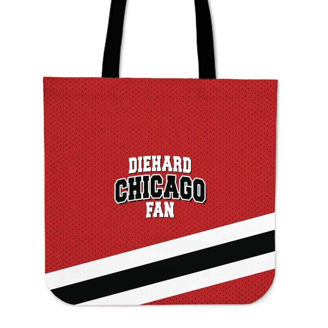 Shopeholic:DieHard Chicago Fan Tote Bag