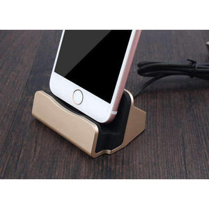 Dock Station Charger For Apple iPhone-Gold-Dock Station Charger For Apple iPhone-3-Shopeholic