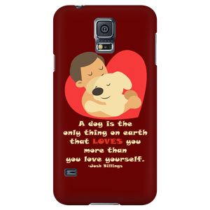 Dog Lovers Phone Cases - Dark Brown-Galaxy S5-AJ01036P-Shopeholic