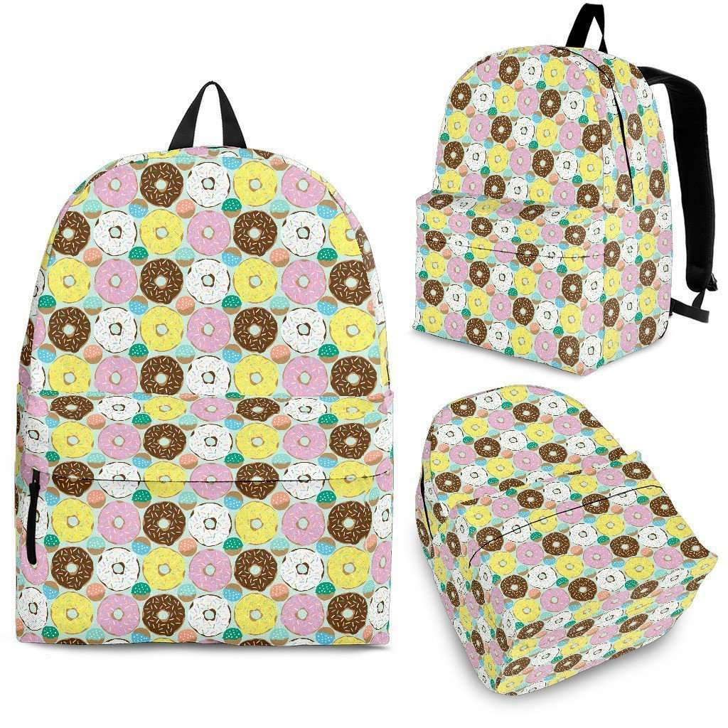 Shopeholic:Doughnuts Backpack