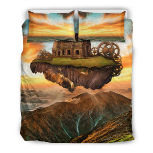 Fantasy Floating Island - Bedding Sets-Shopeholic