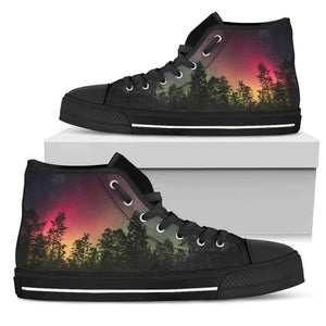 Forest - Men's High Top Canvas Shoes-Mens High Top - Black - Forest - 1-PP.2541846-Shopeholic