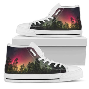 Forest - Men's High Top Canvas Shoes-Mens High Top - White - Forest - 2-PP.2541855-Shopeholic