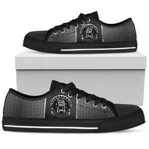 Shopeholic:French Bulldog Women's Low Top Shoes