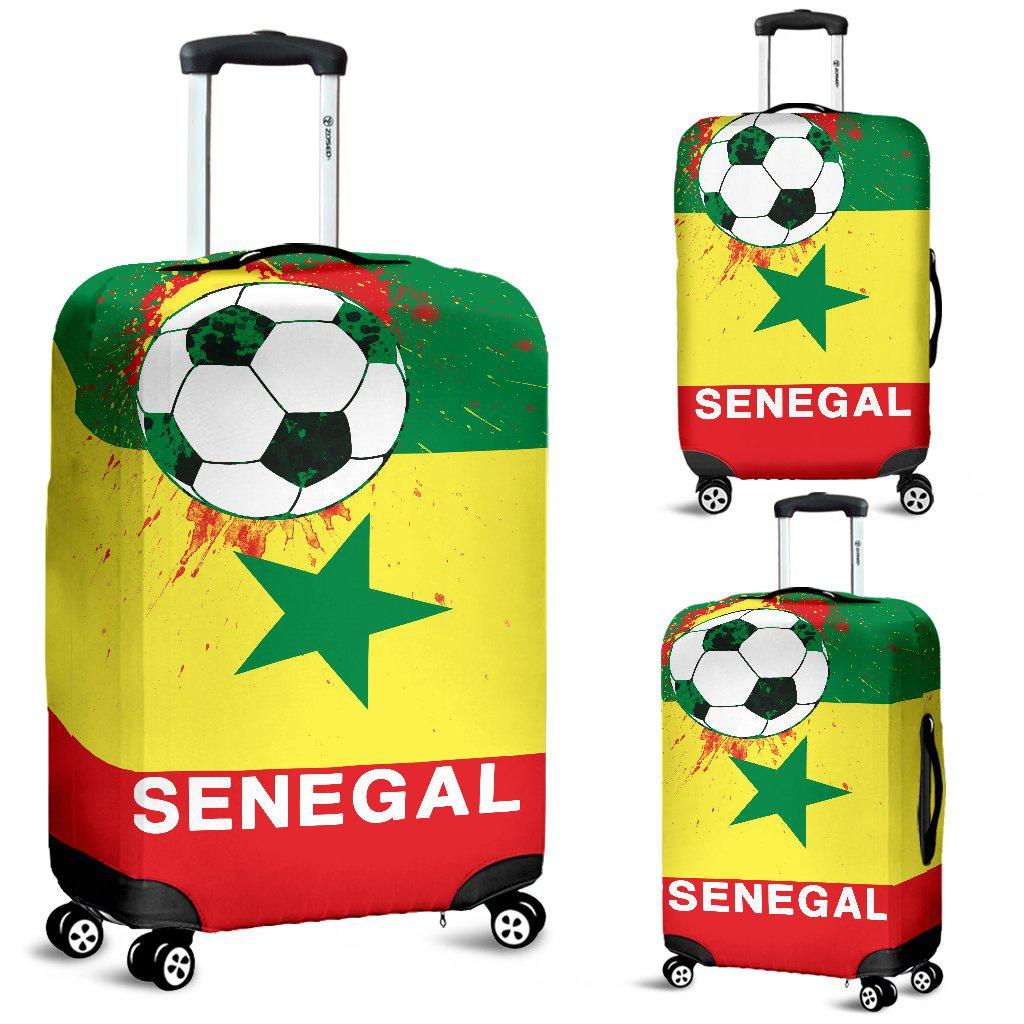 Shopeholic:Luggage Covers Senegal Soccer