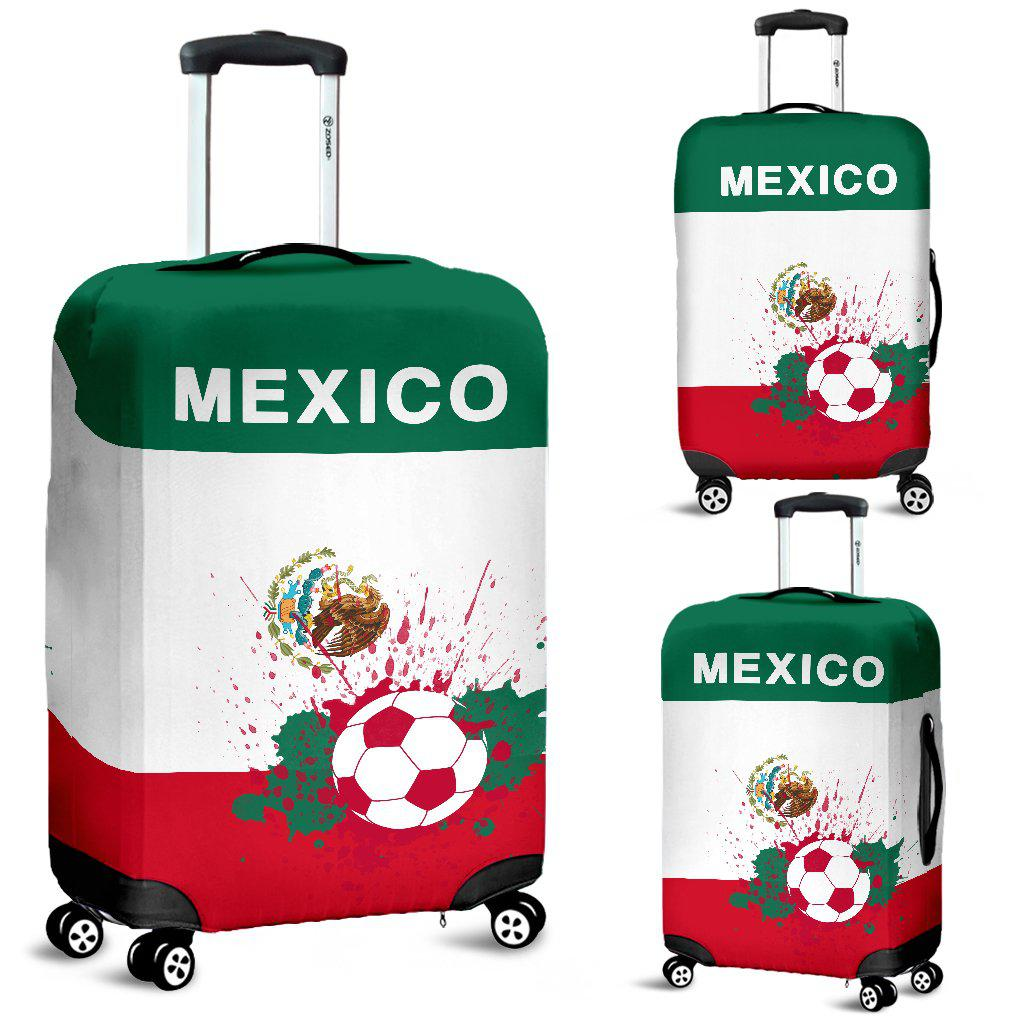Shopeholic:Luggage Covers Mexico Soccer