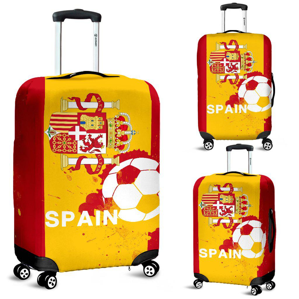 Shopeholic:Luggage Covers Spain Soccer