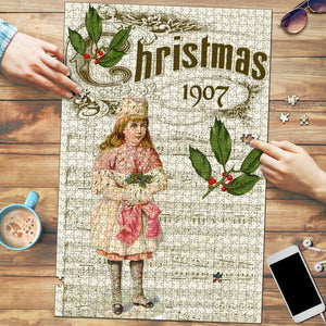 Christmas 1907 Vintage Jigsaw Puzzle