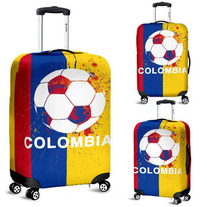 Shopeholic:Colombia Soccer Luggage Cover