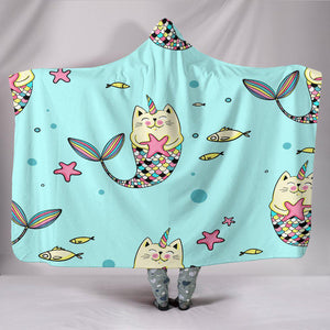 Shopeholic:Mercaticorn Hooded Blanket