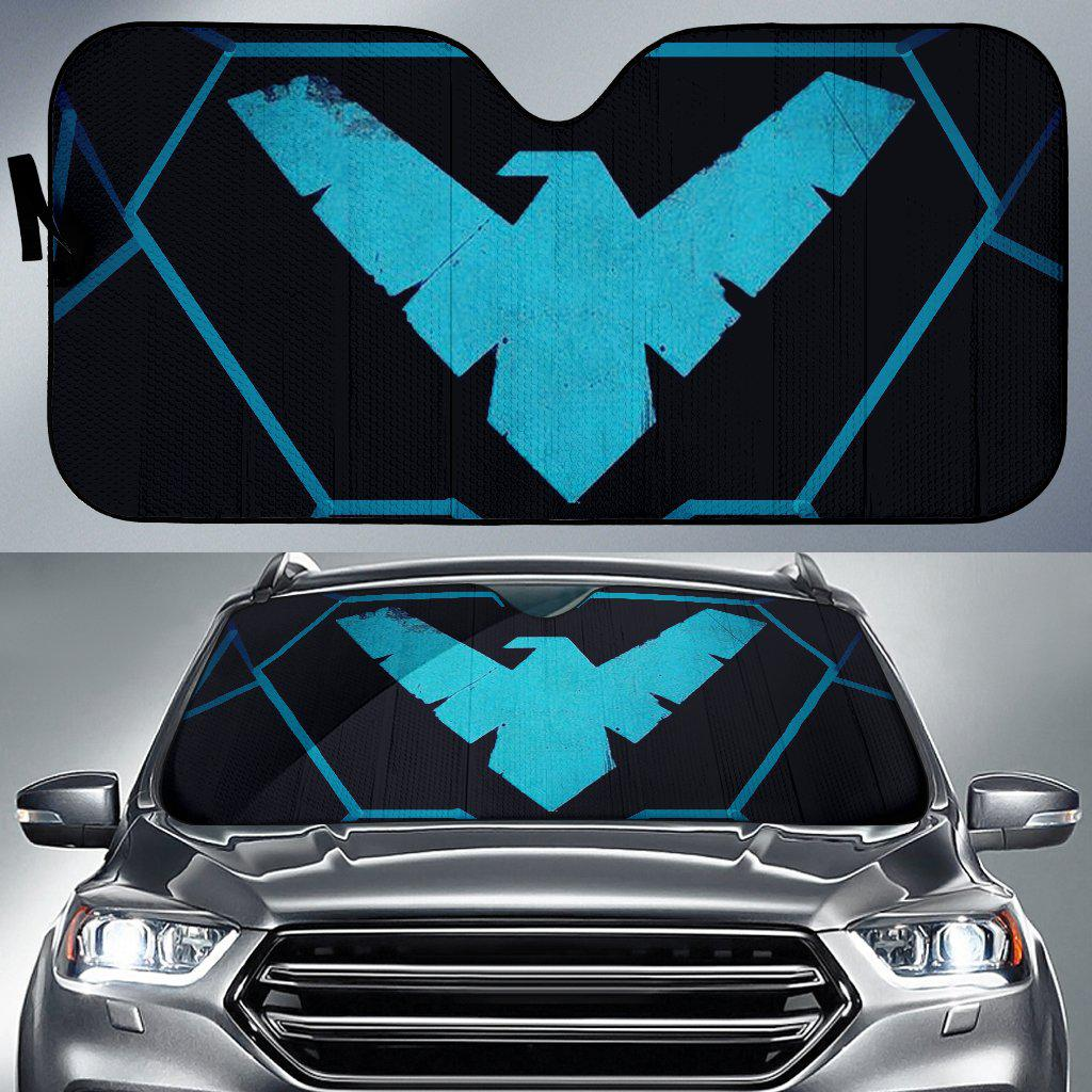 Custom Design Auto Sun Shade - Stephanie