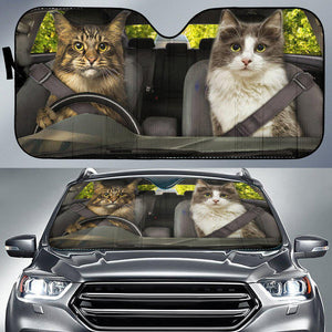 Shopeholic:Cats 1 RHD - Auto Sun Shade