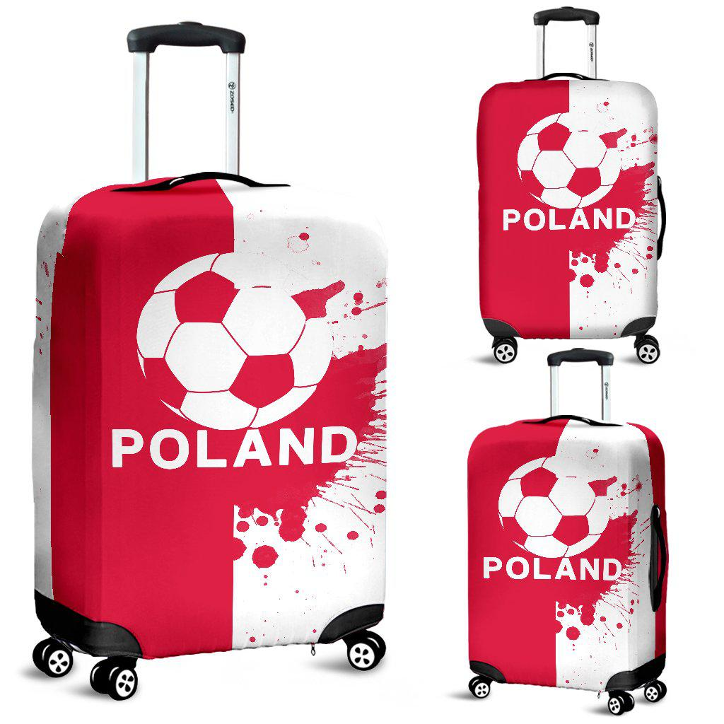 Shopeholic:Luggage Covers Poland Soccer