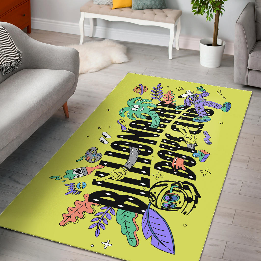 Shopeholic:Custom Area Rug - Chaveal 1 - Yellow